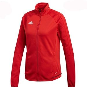red women adidas jacket